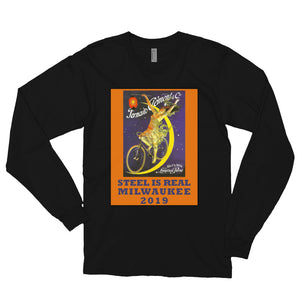 Steel is Real 2019 Long Sleeve Cotton T-shirt