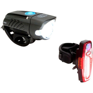 NiteRider Swift 500 and Sabre 80 Headlight and Tail Light Set