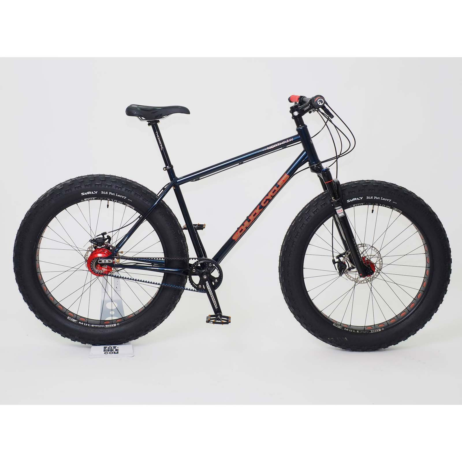 Schlick Northpaw Belt Drive Rohloff Fat-bike - Large