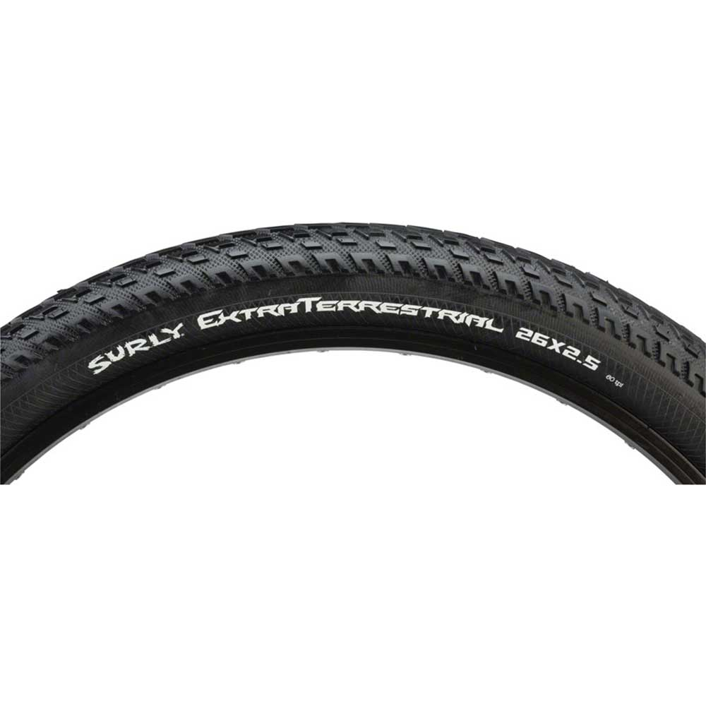 Surly ExtraTerrestrial Tire - 26 x 2.5 Tubeless-Ready Black 60tpi