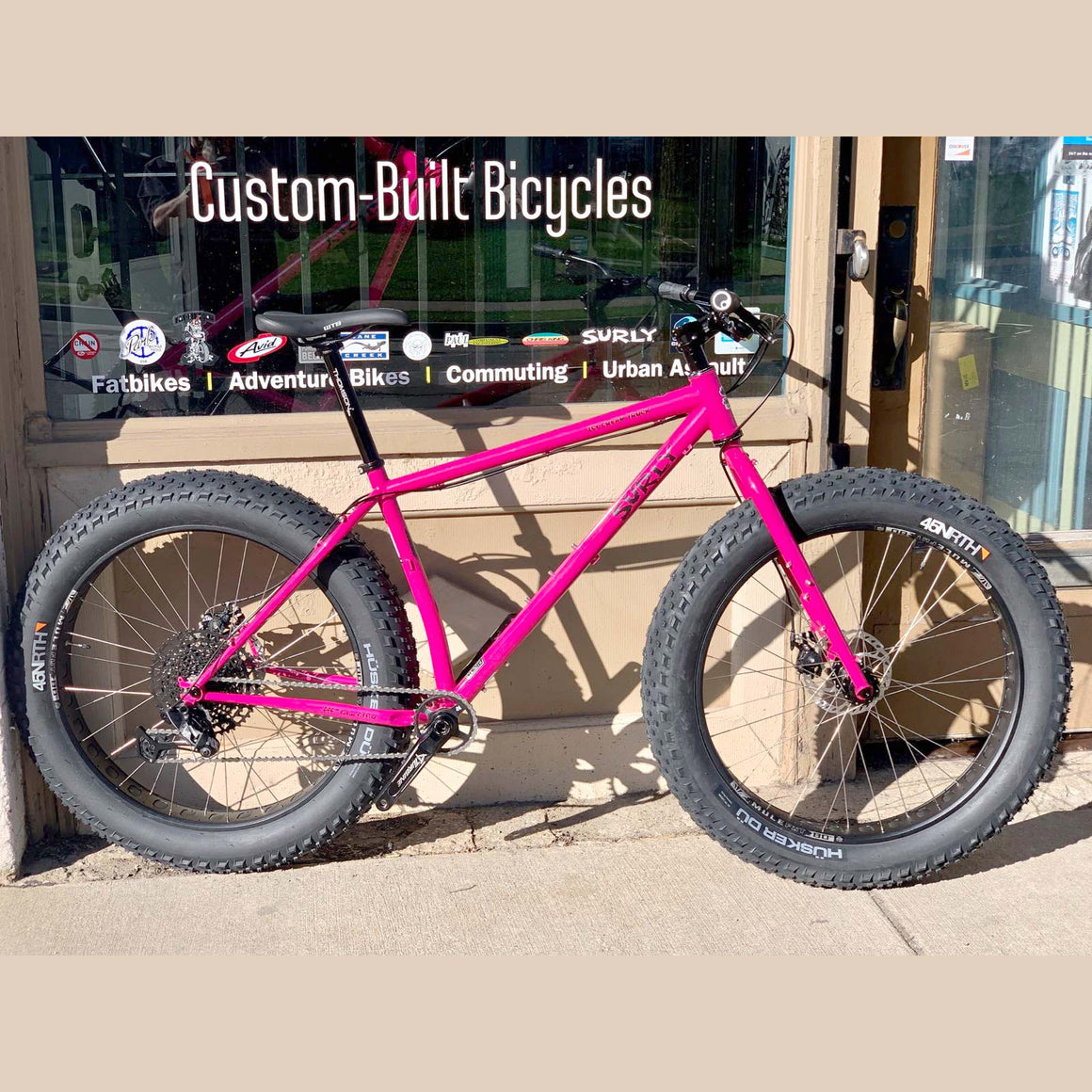 Surly Ice Cream Truck Custom Build Large Prickly Pear Sparkle