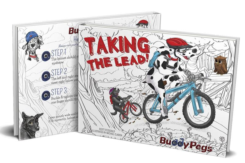Taking The Lead - Buddy Pegs Book