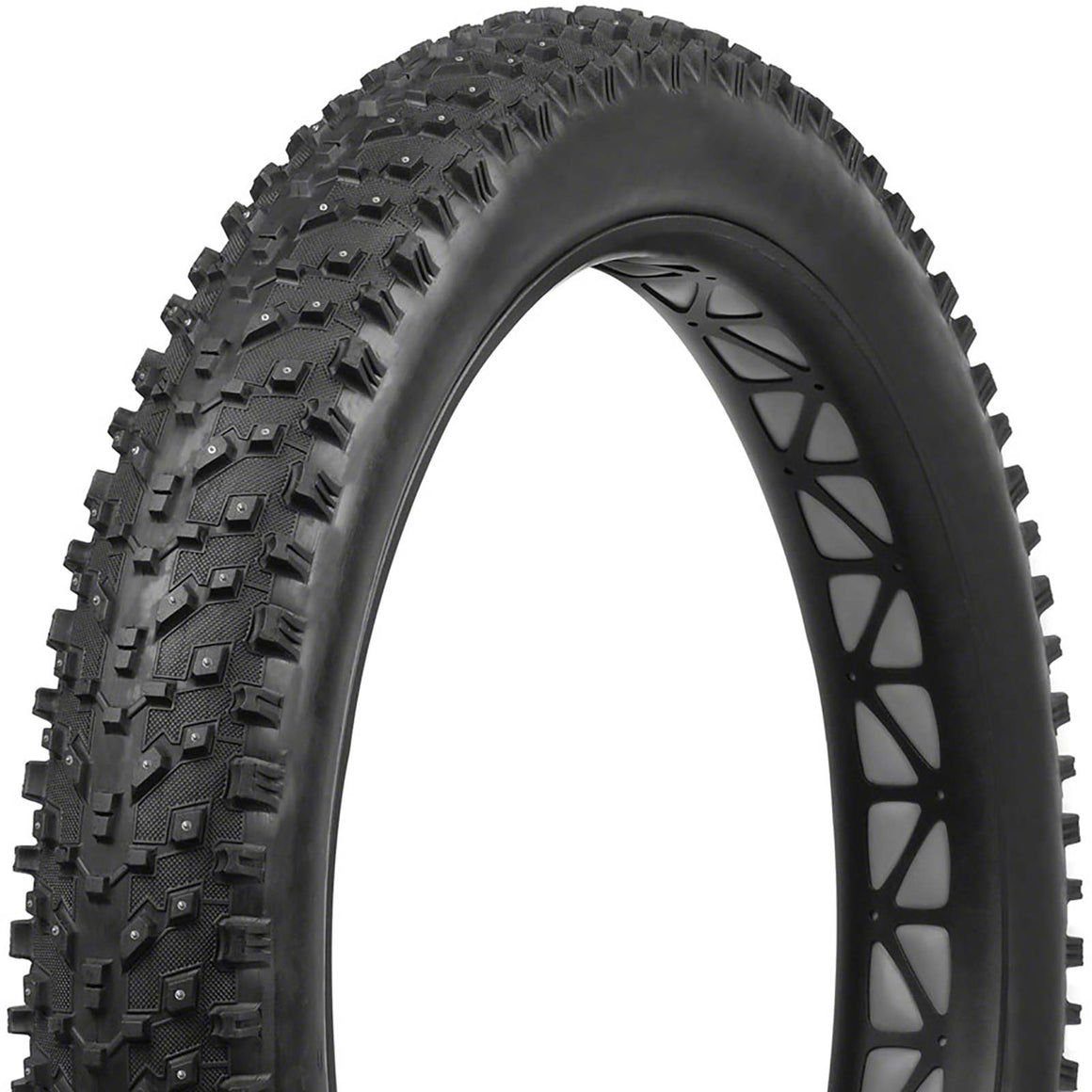 Vee Tire Snow Avalanche Tire - 26 x 4.8, Tubeless, Folding, Black, 120tpi, Studded, Silica Compound