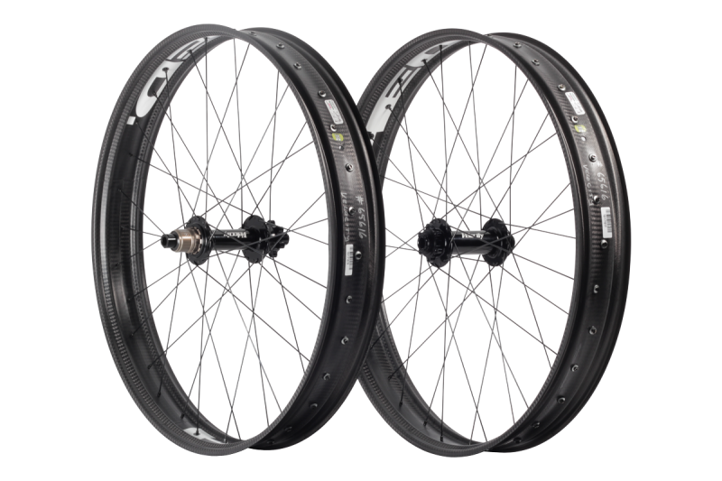 Velocity/HED Fatbike Carbon Comp Wheelset