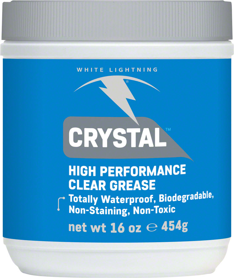 White Lightning Crystal Bicycle Grease 16oz Tub