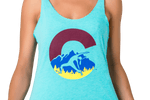 Yoga Tank Top Light Blue