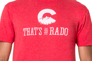 That's So Rado T Shirt Red