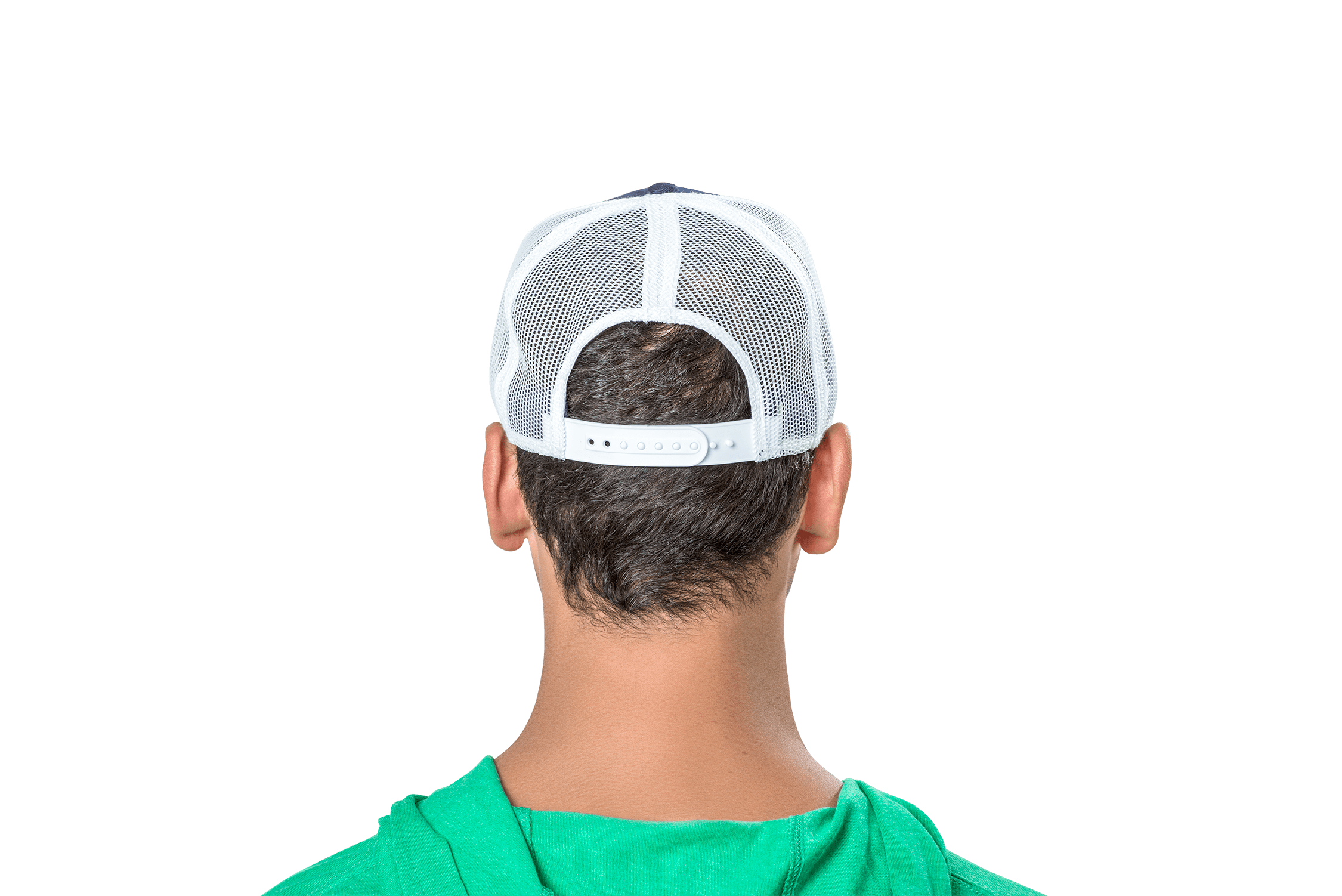 Mountain Badge Hat Green/Navy