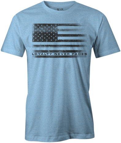 Barksdale Unisex Tee - Heather Blue