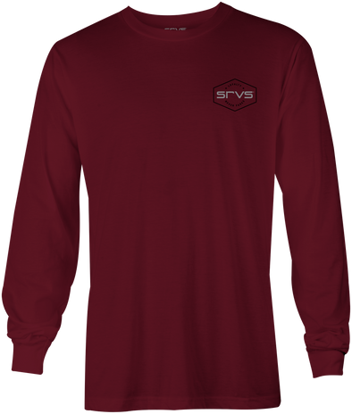 Merrill Long Sleeve-Cardinal