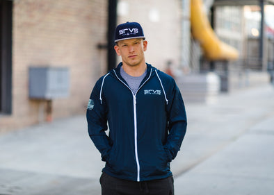 Monterey Windbreaker Jacket - Navy
