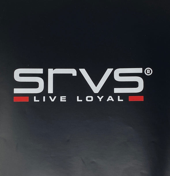 SRVS Window Decal - Red Line