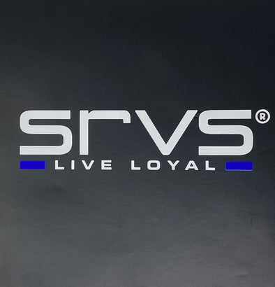 SRVS Window Decal - Blue Line