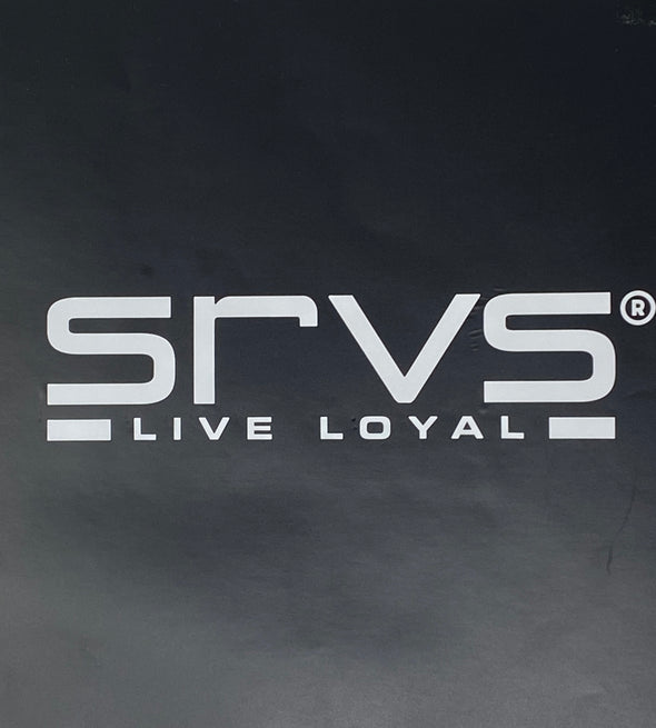 SRVS Window Decal - White Line