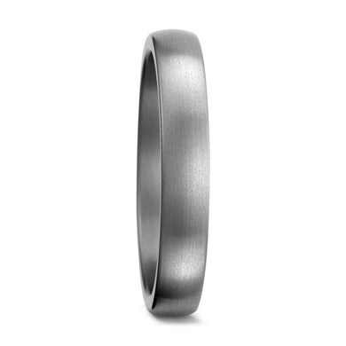 Brushed Titanium, Ultra comfort fit, Wedding Ring (3 to 4mm)