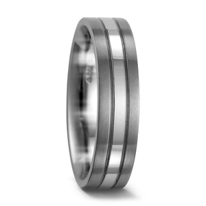 Titanium & Palladium Wedding/Engagement Ring FREE Engraving! 5.5 to 6.5mm widths
