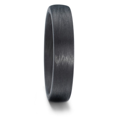 Carbon Fibre, comfort fit, Wedding Ring with FREE engraving! (3 or 4mm)