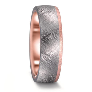 Tantalum, Diamond & 14K Rose Gold Set