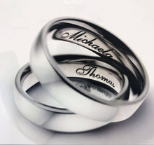 7mm Carbon Fibre & Titanium, Textured wedding Ring with FREE Engraving!