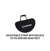 Surflogic Triple Seat Waterproof Car Cover Adjustable Headrest Strap and Buckle Clip Install System