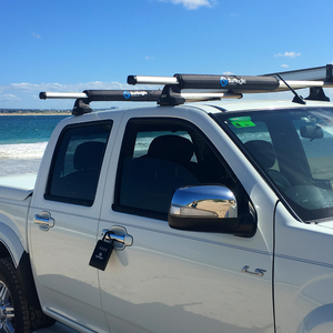 Surflogic Roof Rack Pads For Surfboard Transport on Car Roof Racks