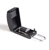 Surflogic Black Maxi Key Vault Car Key Lock Box Photo with box open and car key inside