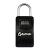 Surflogic Black Maxi Key Vault Car Key Lock Box Photo of Box Front when closed