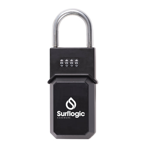 Surflogic Standard Black Key Vault Car Key Security Lock Box Closed