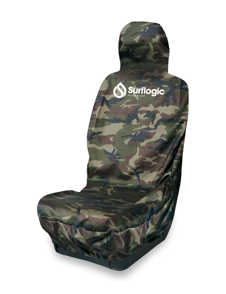 Surflogic Camo Single Seat Waterproof Car Seat Cover