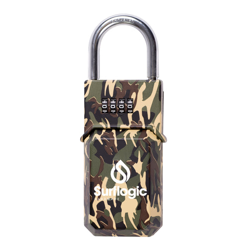 Surflogic Standard Camo Key Vault Car Key Security Lock Box Closed