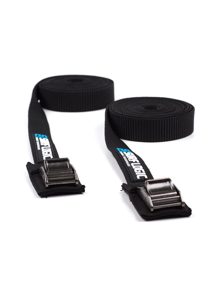 Surflogic Tie Down Surfboard Straps To Use with Surflogic Roof Racks