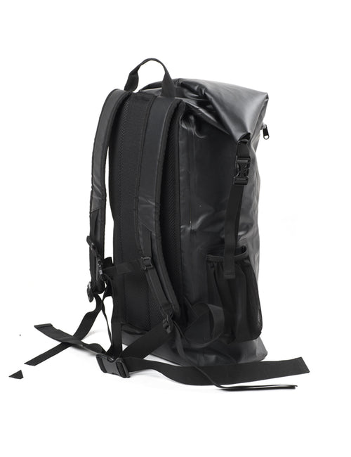 Surflogic Waterproof Back Pack 30L Capacity and Floatable With Padded Backing and Adjustable Padded Shoulder Straps