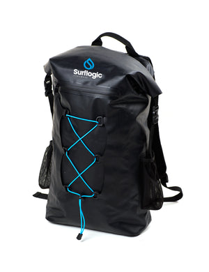 Surflogic 30L Waterproof and Floatable Back Pack with Front Drawstring Storage
