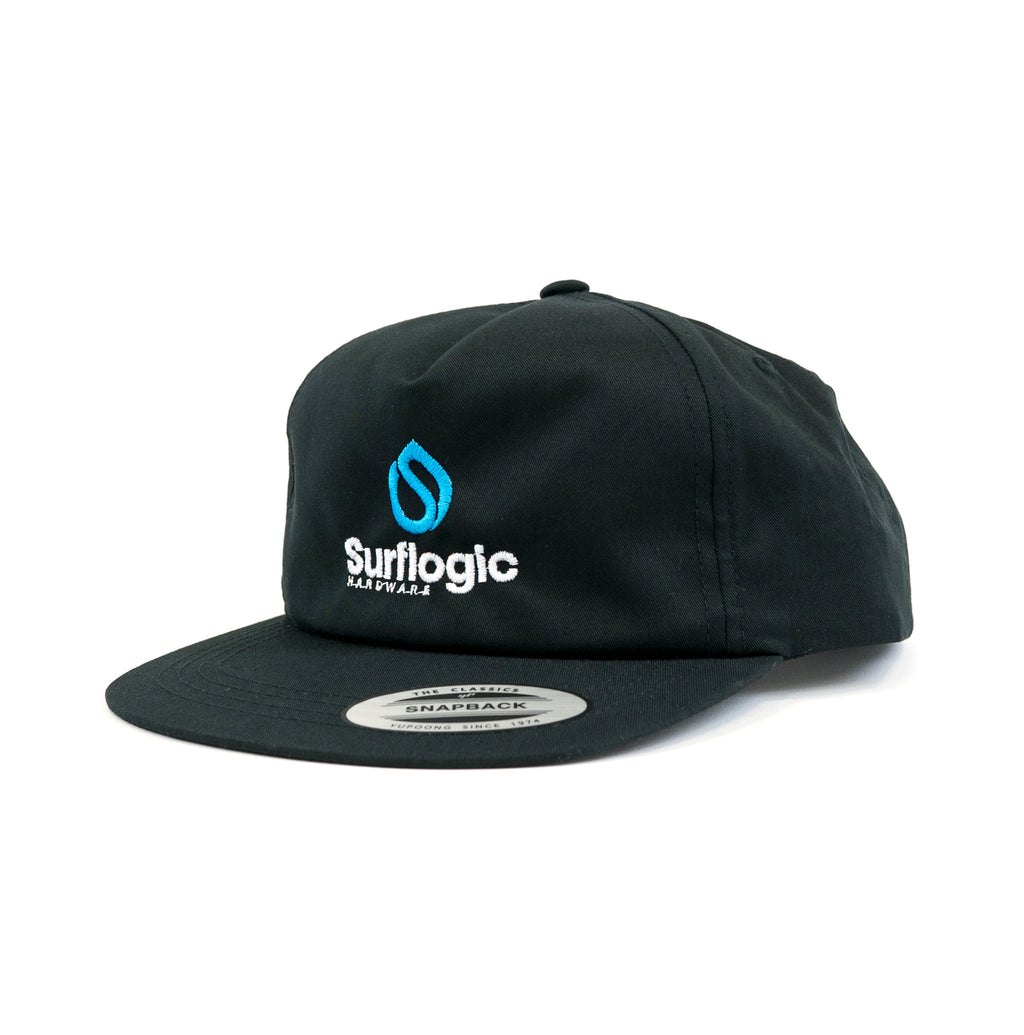 Surflogic Flat Bill Black Surf Cap for sale in Australia and New Zealand