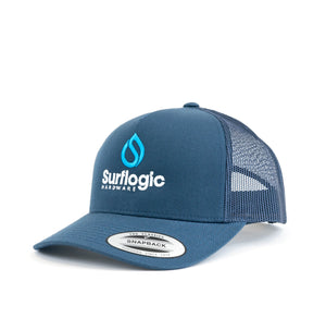 Curved Bill Surf Style Trucker Cap From Surflogic Australia.png