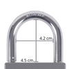 Surflogic Hardware Key Vault Shackle Dimensions Australia New Zealand Silver Compact Size