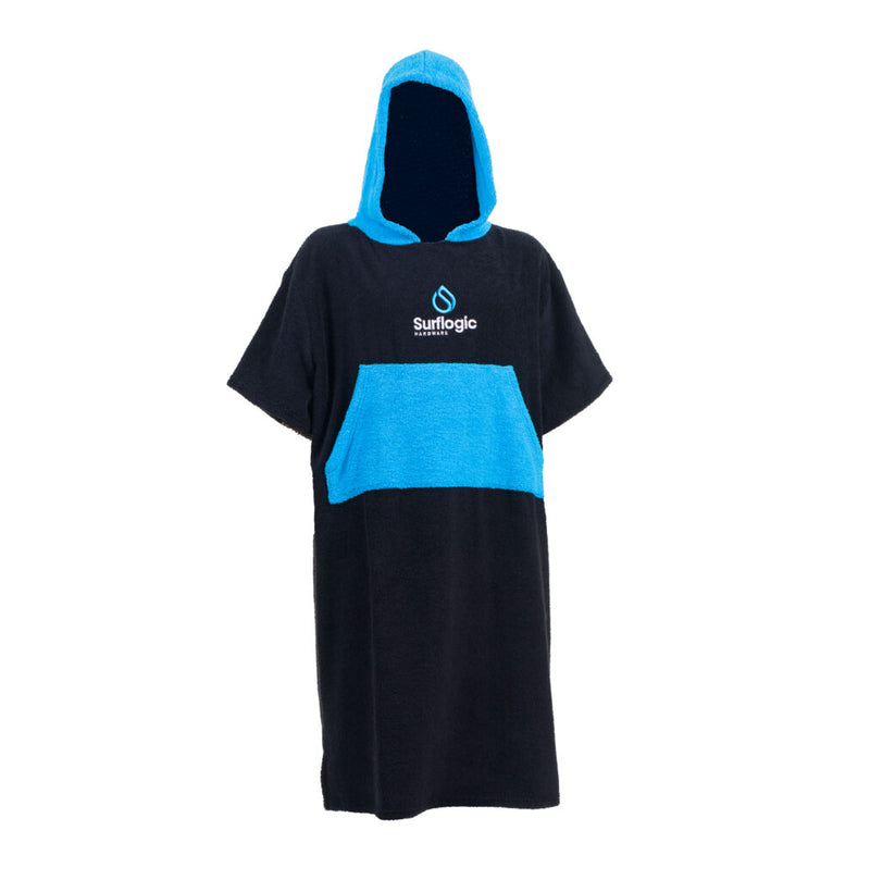 Cronulla Sharks Sharkies Footy Sharks Boardriders Hooded Beach Towel Surf Poncho in Cronulla Shutherland Sharks Football Club Sharkies FC NPL NSW Australia Up Up Cronulla Surflogic Down Under