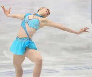 Graceful New Figure Skating Dress