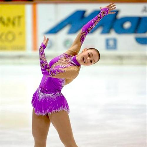 Girls Custom Figure Skating Dresses