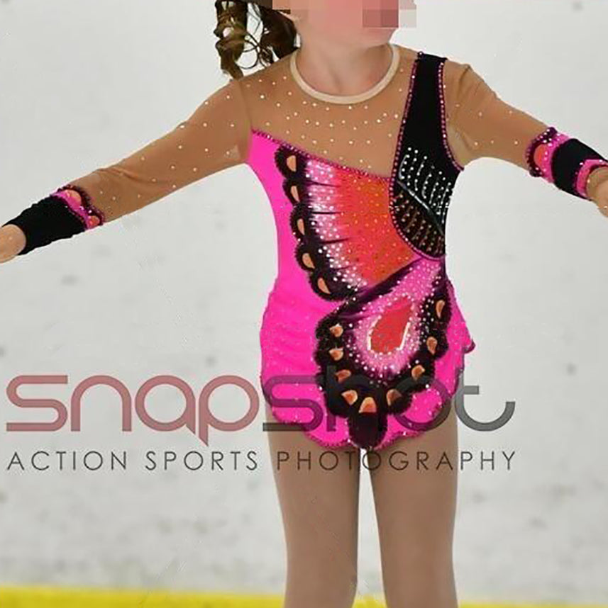 Kids Figure Skating Competition Dress