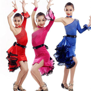 Red, Blue or Rose Performance Costumes