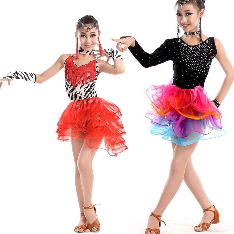 Girls Performance Dresses in 2 Styles