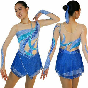 Girls Competition Figure Skating Costume