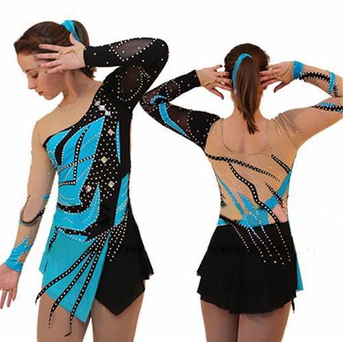 Custom Figure Skating Competition Dress