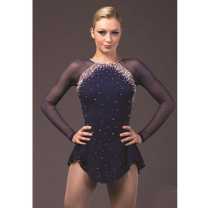 Graceful Adult Custom Figure Skating Dress