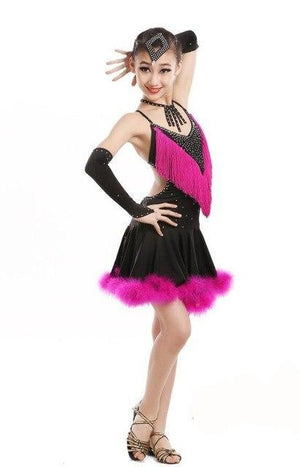 Kids Latin Dance Costumes