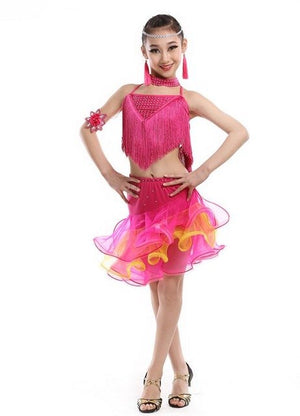 Girl's Latin Freedance Costumes