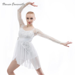 Women's and Girls'  Lyrical Contemporary Performance Dress