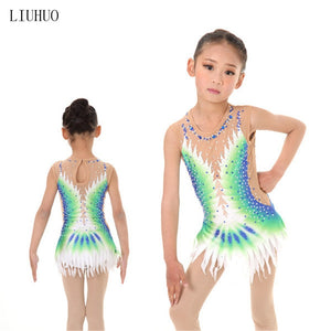 Girls Artistic Figure Skating or Gymnastics Dress