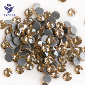 Golden Shadow SS16-SS20 1440Pcs Crystal Hot Fix Rhinestones